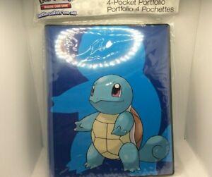 Ultra PRO Pokemon TCG 4-Pocket Squirtle Portfolio. B3G1 Free!