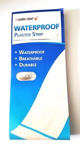 Waterproof Dressing Plaster Non Stick Gauze on Strips Breathable First Aid UK