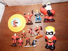 The Incredibles Disney figure toy playset Syndrome Dash Bob Parr bundle joblot