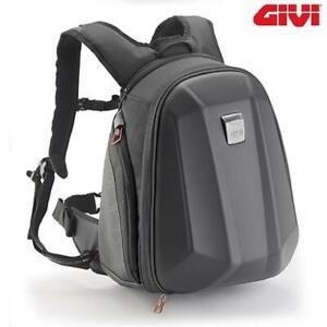 Backpack Motorcycle Sport 22L Thermoformed Black GIVI ST606 Estate/Winter