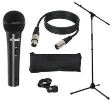 LD Systems MICSET1 Mikrofonset mit Mikrofon, Mikrofonständer, 5m Mikrofonkabel