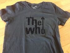 The Who glam shirt women's small