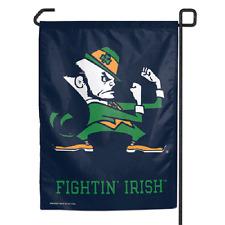 "Notre Dame Fightin Irish Polyester 11""x15"" Garden Yard Wall Flag"