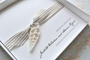 Luxury Beach Theme Wedding Invitation Shell Abroad boxed invitation