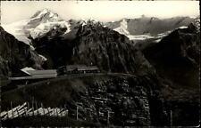 Grindelwald alte K Schweiz 1979 Panorama First mit Schreckhorn und Fiescherhorn