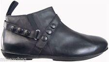 Authentic $690 Cesare Paciotti US 9 Leather Boots Italian Designer Shoes