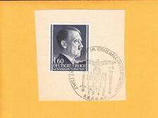 Nazi Germany ONE DAY ONLY 2 Years Ccl General Government Hitler 1,6 On Piece A