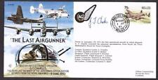 SIGNED LIMITED EDITION COVER LAST RAF AIR GUNNER GEORGE CHARLES ROYAL AIR FORCE