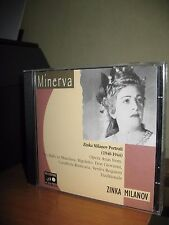ZINKA MILANOV PORTRAIT 1940 1944 CD MINERVA REMASTERING