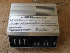 Vintage Phone-Mate Telephone Answering Machine Model 8000 Rare Model