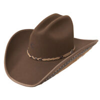 Charlie 1 Horse Womens Western Cowboy Hat Rising Star Mink Brown 4X