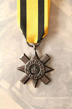 BRITISH MILITARY MEDAL ASHANTI STAR AFRICA GOLD COAST