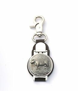 Beef Cow Design Clip on Fob Pocket Watch Cow Farming Gift 030