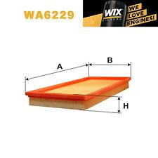 1x Wix Air Filter WA6229 - Eqv to Fram CA4365