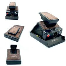 Polaroid SX-70 Land Camera, Using SX-70 Film - Black & Dark Brown - Fully tested