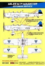 KORA Decals 1/48 MILES M.14H MAGISTER Estonian Air Force