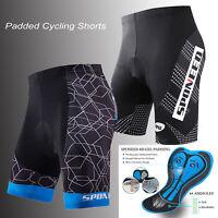 Sponeed Mens Cycling Shorts Bicycle Tights Wicking Road Bike Pants Stretchy