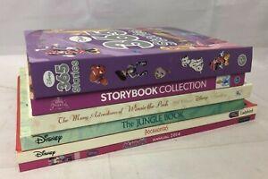 6x Mixed Disney Story Books Pocahontas Jungle Book Winnie the Pooh 365 Stories