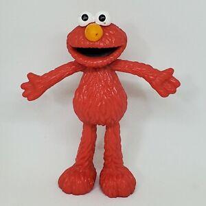 "Vintage Elmo Bendable PVC Figure Sesame Street Applause Cake Topper 4.25"" Bendy"