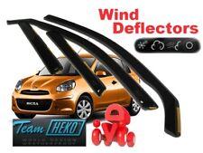 NISSAN Micra  K-13   08/2010 - 2017  5.doors Wind deflectors 4.pc  HEKO  24279