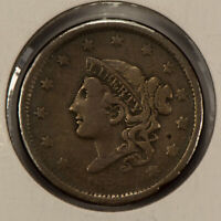 1838 1c Coronet Head Large Cent - Brothel Token - SKU-Y2591