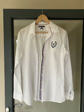 Ladies Tommy Hilfiger Fitted White Shirt Size 8