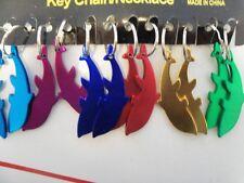 12 Dolphin Luau  Keychains Party Favor Beach Ocean Gift