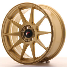 Japan Racing JR11 17x7.25 ET35 5x100 5x114.3 Gold 4 cerchi in lega 4 wheels