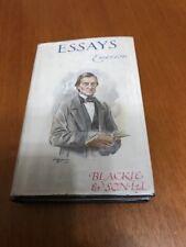 Essays  Book (Ralph Waldo Emerson) - Hardback 1940's