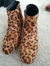 Siguiente Estampado De Leopardo Botas Talla 5