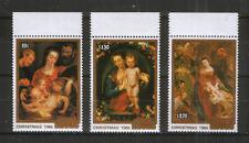 Cook Islands 1125-27 ** Gemälde Rubens (Weihnachten 1986)