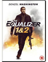 The Equalizer 1&2 DVD (2018) Denzel Washington, Fuqua (DIR) cert 15 2 discs