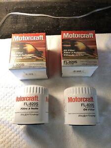 2 New Ford FL-820S Engine Oil Filters F1AZ-6731-BD Motorcraft OEM
