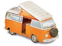 VW Bulli T2 Model Kit & Book Camper Van Christmas Birthday Educational Gift