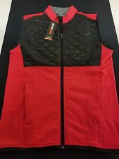 New Men's Adidas Climaheat Prime Fill Full Zip Vest Style AF2722 Sizes Small, M