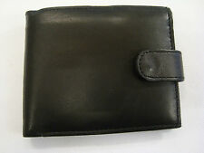Sheep Skin Leather Wallet with Id Space Coin Pocket and Back Zip