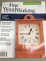 Taunton Fine Wood Working Magazine Vintage August 2002 Home Building Hardware