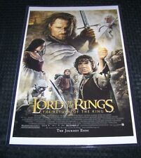 The Lord of the Rings 11X17 Movie Poster Return of the King