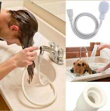 RUBINETTO singolo ampio bagno lavandino doccia testa tubo a spruzzo PARRUCCHIERE Pet Miscelatore push su
