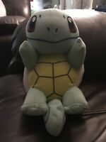 "Toy Factory 7"" Squirtle Plush Pokemon Stuffed Animal Pikachu Nintendo 2019 NWT"
