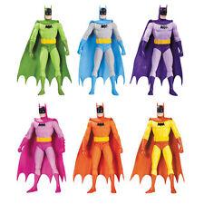 "BATMAN - 7"" Rainbow Batman Action Figure Set (6) by DC Comics #NEW"