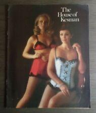 Vintage 1970s House of Kesman International Lingerie Catalog
