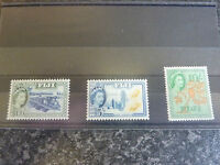 FIJI POSTAGE STAMPS SG290,293,294 1954-9 LIGHTLY MOUNTED MINT