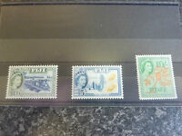 FIJI POSTAGE STAMPS SG290,293,294 1954-9 LIGHTLY-MOUNTED MINT