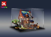 Display King-display case for LEGO Medieval Blacksmith 21325 (Top-Rated Seller)
