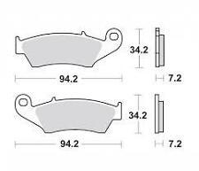 Pastilla Freno Moto SBS 694 SI