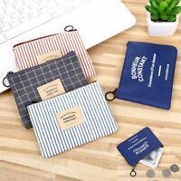 sac la valise de toile porte - monnaie mini - portefeuille détenteur de carte