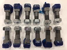 12 Carbide Tipped Replacement Teeth &Locknuts:Shaver & Baumalight Stump Grinders