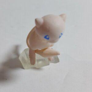 "New Pokemon Scale World #4 1.25"" 1:20 Scale Mew Mini Figure Bandai"
