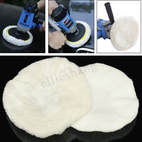 2Pcs 10 inch Soft Waxing Polishing Sponge Car Polisher Wheel Buffing Buffer Pad